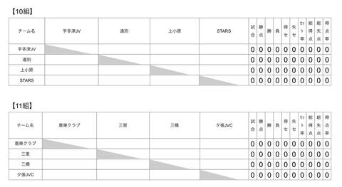 全日本小学生混合予選夕張