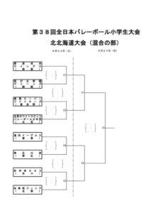 第38回北北海道大会混合トーナメント