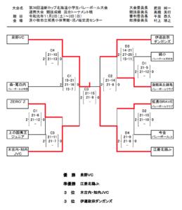 2019道新道南混合結果